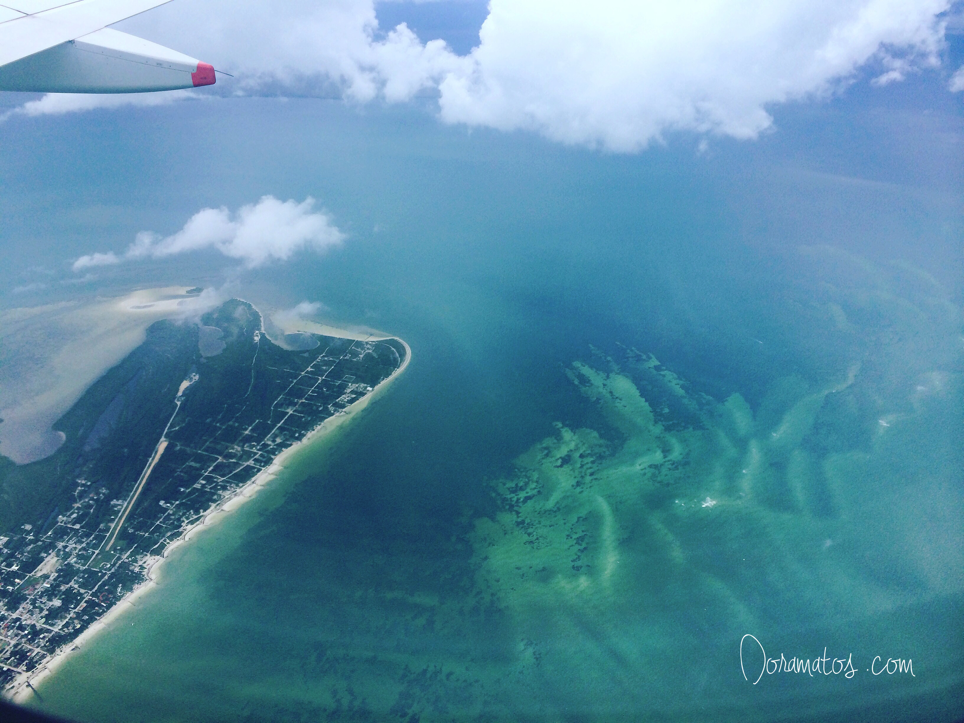 Vista Aérea de Holbox | Doramatos.com