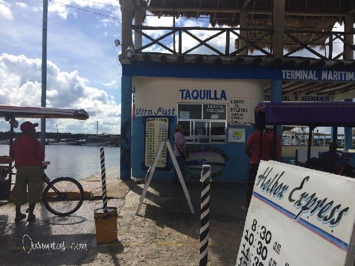 Taquilla Chiquilá Holbox | Doramatos.com