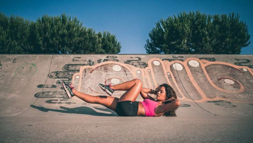 As minhas dicas para perder gordura abdominal localizada - Doramatos.com